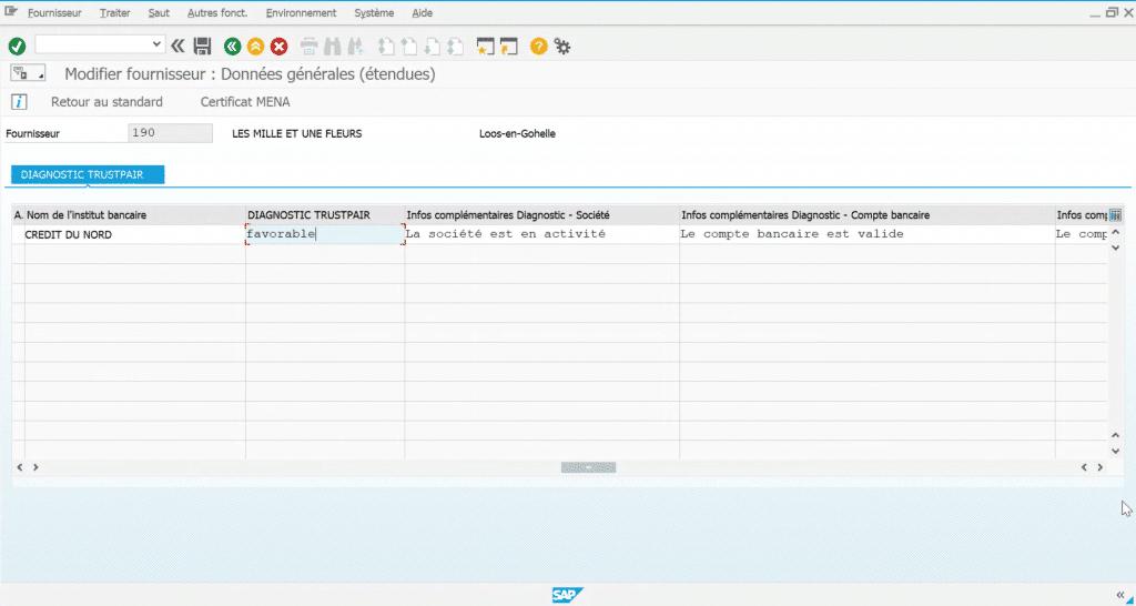 Trustpair s'intègre à SAP